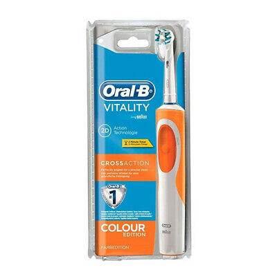 Tandenborstel Vitality Cross Action Oral-B Oranje