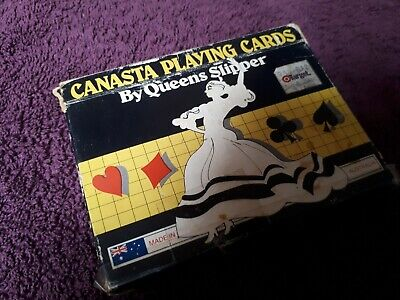 Canasta Playing Cards (Queens Slipper)