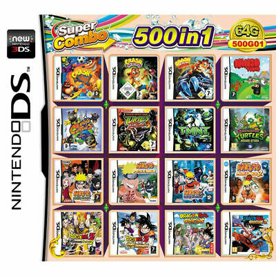 500 In 1 Video Game Cartridge Console Card For Nintendo NDS NDSL 2DS 3DS NDSI