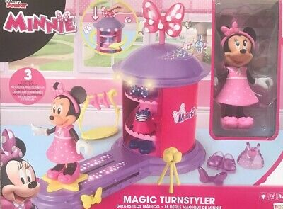 Minnie Mouse Magic Sink Set 14Pcs Real Working Sink Pretend Toys NEW