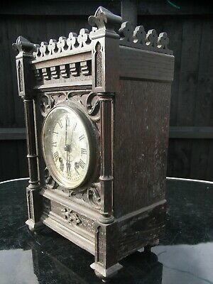 19th / Early 20th Century Mantle Clock / Lenzkirch / my ref 60