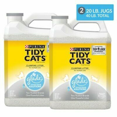 Purina Tidy Cats Clumping Litter with Glade Twin Pack (20 lb., 2 ct.)