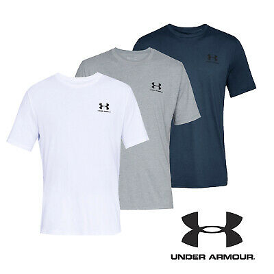 UNDER ARMOUR T Shirt Mens UA Sportstyle Left Chest Short Sleeved Tee Top