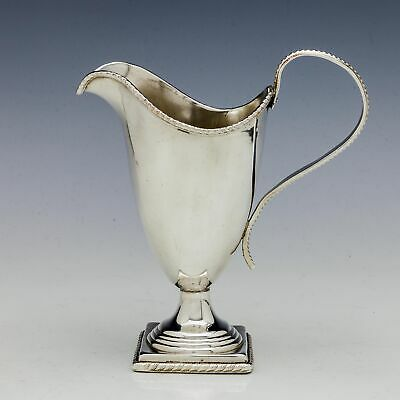 Old Sheffield Silver Plate Cream Jug c1810