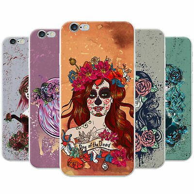 Women From Mexican Holiday Day Of Dead Hard Case Phone Cover for Sony Phones