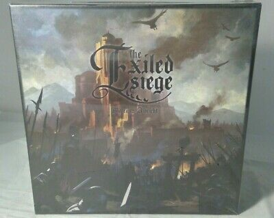 The Exiled Siege Board Game (119 Miniatures Included) Brand New & Sealed