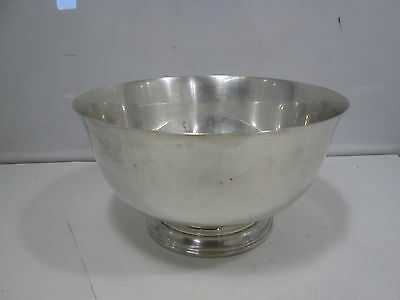 Vintage Towle Silversmiths Sterling Silver Footed Bowl
