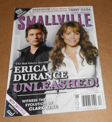 TOM WELLING ERICA Durance Smallville Autographed Signed 8x10