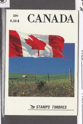 CANADA LOT KSG(776) # 1189c MNH BOOKLET FLAGS BOOKLET PANE CAT VALUE $50
