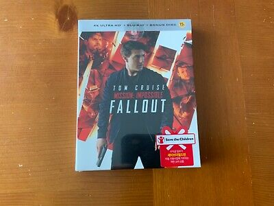 Mission Impossible Fallout steelbook with slip and bonus disc