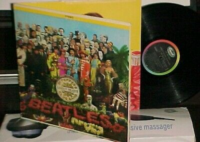"The Beatles ""Sgt Pepper's Lonely Hearts Club Band"" LP Capitol Ster 1967 W/Insert"
