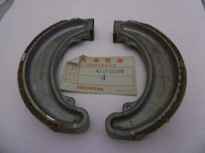 Honda Genuine Nos Front Brake Shoes 45120-329-670 Xl250 Xl350 Mt250 Mr250