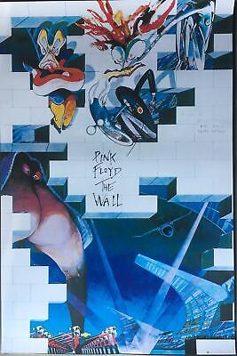 Pink Floyd The Wall Rare UK Import Poster 24 x 36