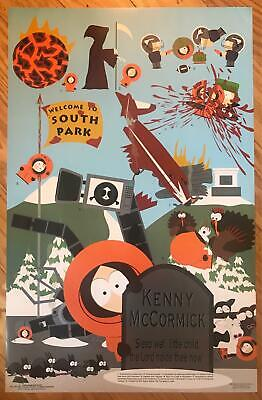 South Park Who Killed Kenny 1997 Rare Vintage Poster 24 x 36