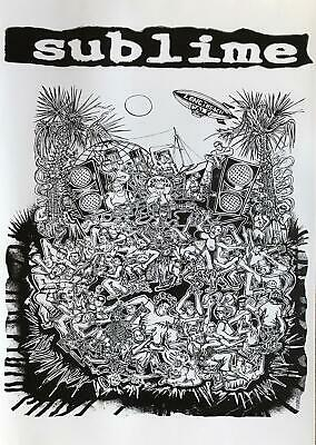 Sublime Collage Black & White Collage Poster 24 x 34