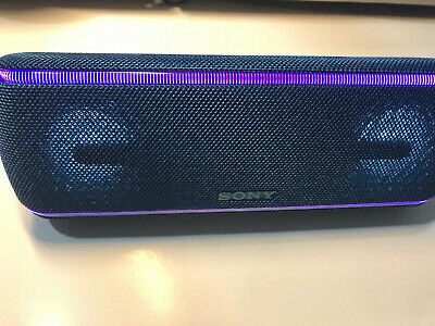 Sony SRS-XB41 Portable Bluetooth Speaker with Extra Bass, water proof - Blue