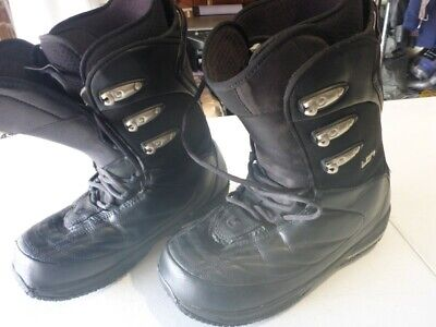 089 Mens Burton Ion Md Snowboard Boots 10 Uk / 11 Usa / 44 Eur Ex Cond $310 Rrp