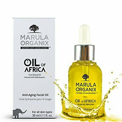 Marula Organix Cold Pressed Marula Oil - Infused with Helichrysum Oil -