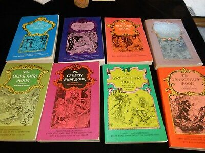 8 Fairy Books Edited By ANDREW LANG
