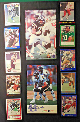 University of Oregon Ducks lot 23 NFL CFL Fouts Castle Cherry Mike Gray Francis