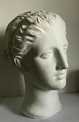 Ancient Greek Life Size Statue Head Museum Replica