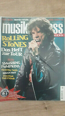 Musikexpress Nr. 6/1998 Brian May,Lou Reed,Rolling Stones, Kylie Minogue,H.Nova