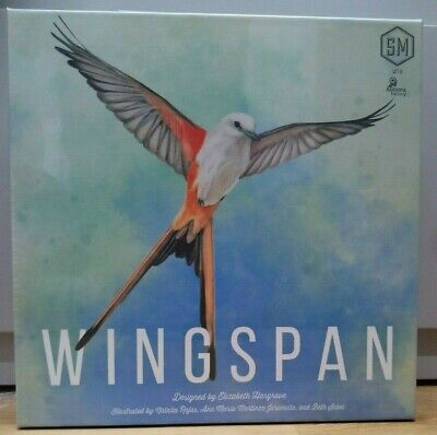 Wingspan Board Game Birds Brand New Sealed Gift Present New Version 2019