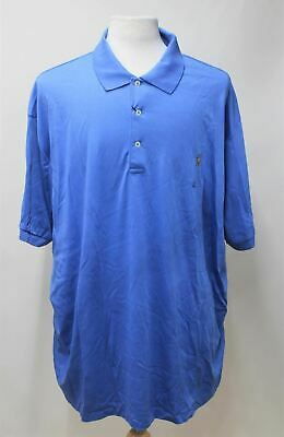 POLO RALPH LAUREN Men's MClassics 1 Blue Soft Cotton Polo Shirt Size 3XB BNWT