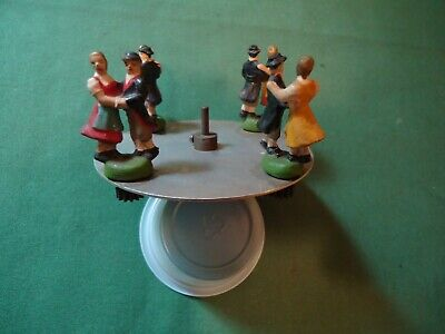 Vintage Character Carousel Part For Musical Cuckoo Clock