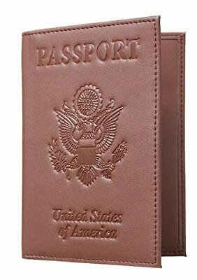 Passport Holder with RFID Blocking  Travel Wallet Passport Cover