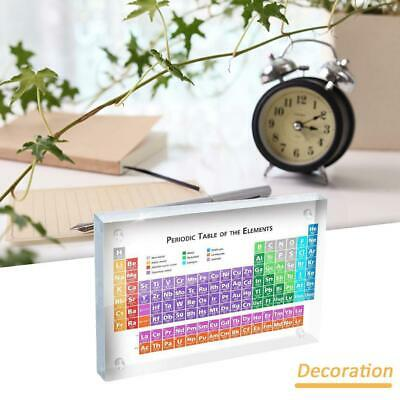 Periodic Table of the Elements Desk Ornament - Modern Style - Science Chemistry