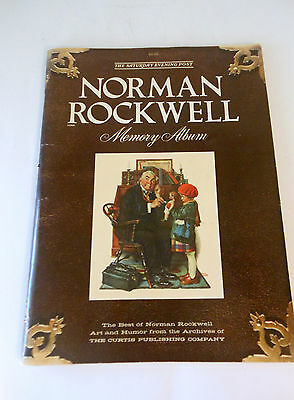 "Norman Rockwell ""The Saturday Evening Post"" Vintage 1979"
