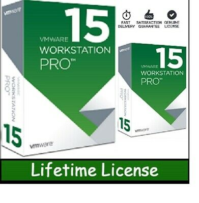 VMWARE WORKSTATION 15 PRO& For 5Pc's BUY1=4FREE LIFETIME KEYS 2019 FAST DELIVERY