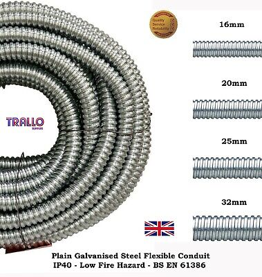 Premium Metallic / Steel Conduit Cable Pipe / Tube -Trade Size 16, 20, 25 & 32mm