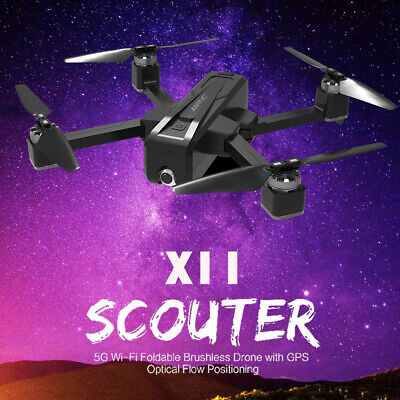 JJRC X11 GPS Drone With 5G WIFI FPV 2K HD Camera Brushless RC Quadcopter Black