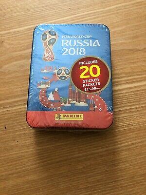 fifa world cup russia 2018 stickers RRP £15.99