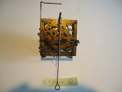 Vintage G.M. Angem Cuckoo Clock Movement for parts or repair L