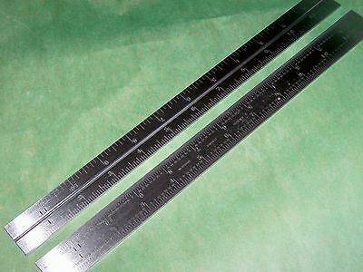 Starrett NEW B12-4R Combination Square Blade Scale Rule American Made - 1 Blade