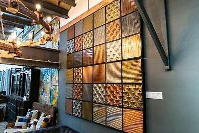 Copper Brass And Zinc Wall Panelling Bar Front Panels