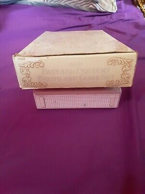 """Vintage Avon """"Past And Present"""" Brush & Comb Set In Box"""