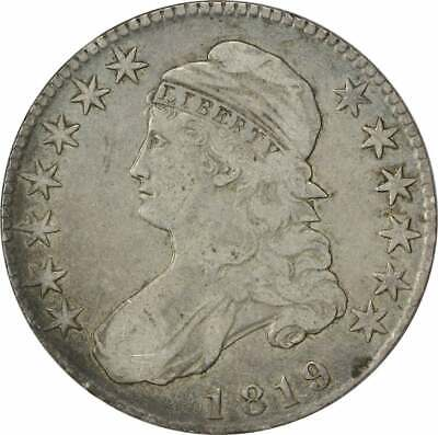1819 Bust Half Dollar, VG, Uncertified
