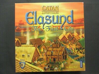 OEJ ~ Elasund The First City ~ Catan Adventures ~ Board Game