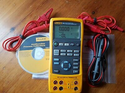 Fluke 725 Multifunction Process Calibrator.IN USED WORKING CONDITION. CALIBRATED
