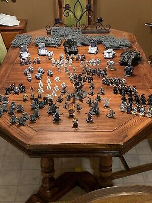 Warhammer 40k SPACE WOLVES lot logan grimnar stormrider iron priest wolf lord