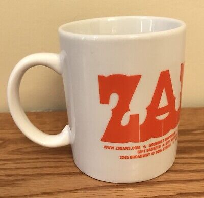 Vintage Zabar's Souvenir Coffee Tea Mug Broadway New York City NY Gourmet Food
