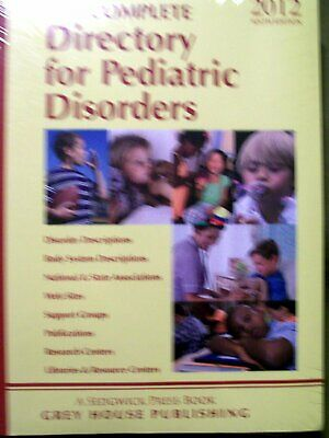 The COMPLETE Directory for Pediatric Disorders (2012, Softcover) Sealed NIP