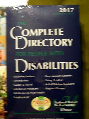 THE COMPLETE DIRECTORY FOR PEOPLE WITH DISABILITIES (2017, Softcover) Sealed NIP