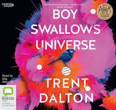 NEW Boy Swallows Universe By Trent Dalton Audio CD Free Shipping