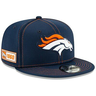 New Denver Broncos 2019 New Era NFL On Field Road 9FIFTY Hat Snapback
