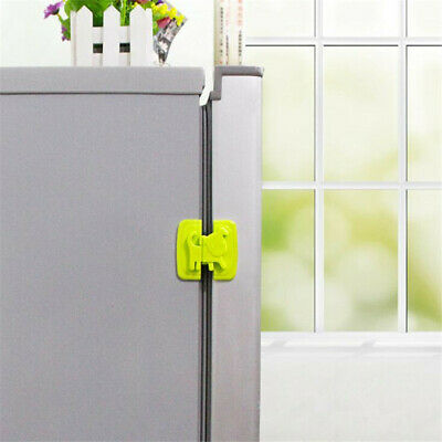 Child Baby Puppy Safety Door Lock  Cupboard Fridge Cabinet Prevent Clamping LD